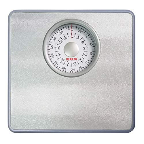 Buy Bargain LITING Weight Scale Household Adult Weight Loss Health Scales No Electronic Weighing Precision Scales Mini Scale (Color : Silver)