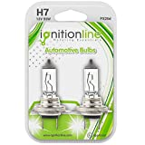 IgnitionLine H7 499 12V 55W Standard Halogen Headlamp Headlight Car Bulbs 2 PIN