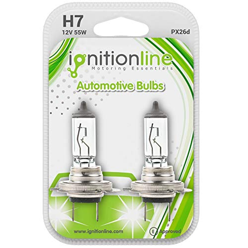IgnitionLine H7 499 12V 55W Standard Halogen Headlamp Headlight Car Bulbs 2...
