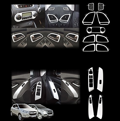 Hyundai ix35 * bis BJ 2013 * CHROM TUNING INNENRAUM ZUBEHÖR SET
