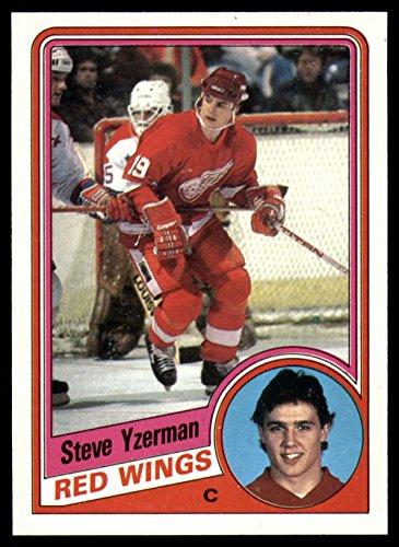 Hockey NHL 1984-85 Topps #49 Steve Yzerman NM Near Mint RC Rookie Red Wings