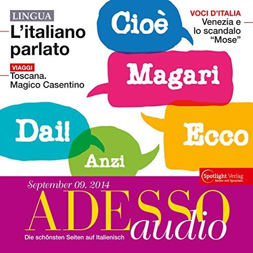 ADESSO Audio - L'italiano parlato. 9/2014 Titelbild