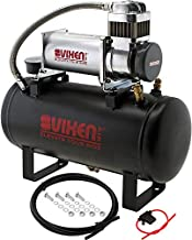 Vixen Air Suspension Kit for Truck/Car Bag/Air Ride/Spring. On Board System- 200psi Compressor, 2 Gallon Tank. for Boat Lift,Towing,Lowering,Leveling Bags,Onboard Train Horn,Semi/SUV VXO8560