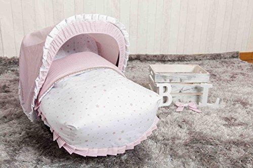 Babyline Sueños - Saco porta bebé, grupo 0, color rosa