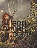 MTG Commander/EDH Log book - 100 Pages to track 50 Games [Large Paperback 8.5' x 11'] (MTG/ EDH Log Book)