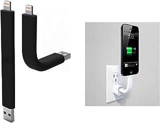 Eximtrade Flexible Cable de Carga Transmisión de Datos Transferir Celular Teléfonos Soporte para Apple iPhone 5/5c/5s/6/6s...