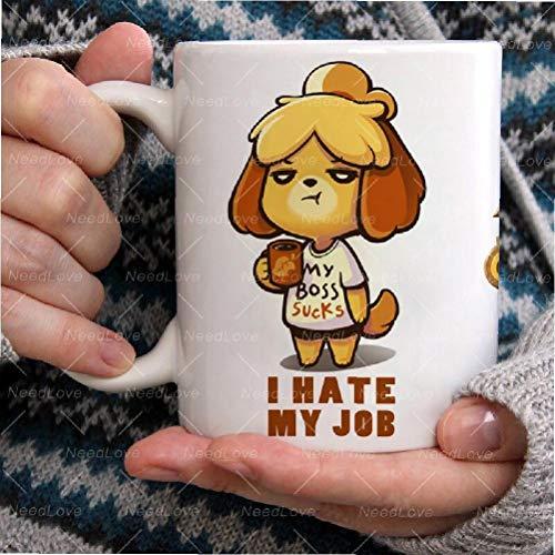 Animal Crossing New Horizons Kaffee Becher Tasse Lustige Keramik Kaffee/Tee/Kakao Becher Einzigartige Büro Geschenk