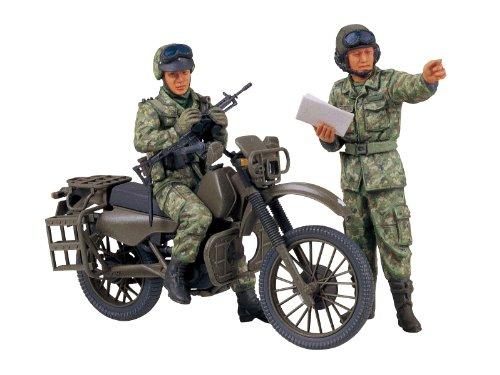 Tamiya - Maqueta para montar, set de motocicleta militar de reconocimiento de...