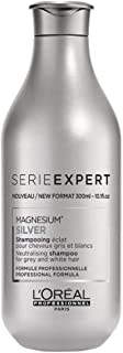 Loreal Professionnel Serie Expert - Silver Magnesium Neutralising Shampoo (For Grey and White Hair) 300ml/10.1oz