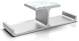 Oriolus Dual Headset Holder Aluminium Alloy Headphone Hook Holder Under Desk Headphone Hanger (Silver)