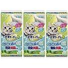 デオトイレ 1週間消臭・抗菌 ふんわり香るシート ナチュラルガーデン 10枚入×3個 (まとめ買い)
