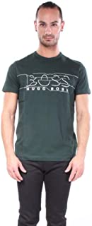 Hugo Boss Men's Tee 1 Graphic T-Shirts 100% Cotton