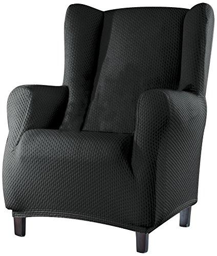 Sucre Sofa Überwurf Ohrensessel Fb. 06-grau
