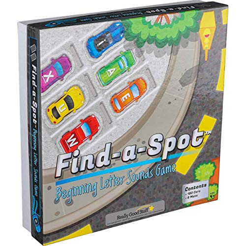 Really Good Stuff Find A Spot Sounds Game (Beginning Letter Sounds)