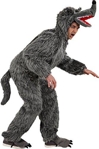 narrenkiste O7535 - Disfraz de lobo (160-175 cm)