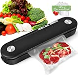 Vacuum Sealer Machine, 2020 New Automatic Food Sealer Air Sealing System for Food Savers, Led Indicator Lights/Easy to Clean/Two Sealing Modes/Compact Design