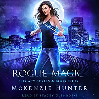 Rogue Magic     Legacy Series, Book 4              Written by:                                                                                                                                 McKenzie Hunter                               Narrated by:                                                                                                                                 Stacey Glemboski                      Length: 8 hrs and 3 mins     1 rating     Overall 5.0