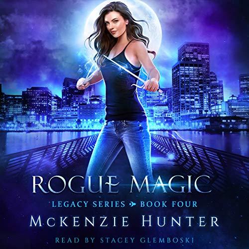 Rogue Magic audiobook cover art