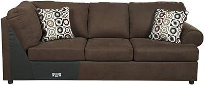Amazon.com: Bobkona Poundex Benford Collection Faux Linen ...