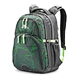 High Sierra Swerve Laptop Backpack, Light Wave/Mercury/Lime, One Size