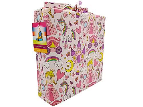 barfuss Stuhl Sitzerhöhung für Kleinkinder 8cm Höhe (pink princess 8cm)