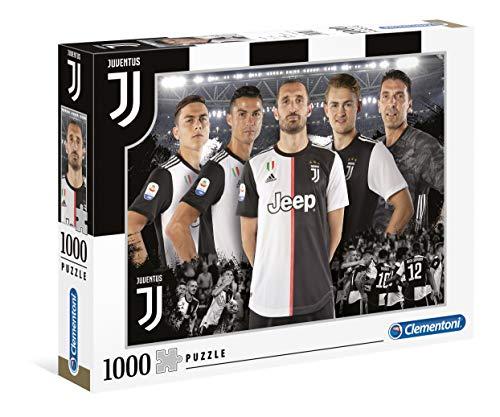 Clementoni-Juventus FC Puzzle, 1000 pezzi, Multicolore, 39529