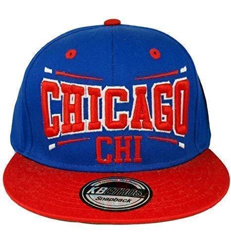 KB Ethos Caps Ethos KB HOMBRE MUJER Chicago GORRA snapback - Blanco/Rojo,...