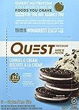 QuestBar, barra de proteina Cookies and Cream, g