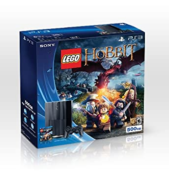 PS3 500GB LEGO  The Hobbit Bundle