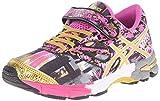 ASICS Gel Noosa Tri 10 PS GR Triathlon Shoe (Toddler/Little Kid), Pink Glow/Gold/Gold Ribbon, 11 M US Little Kid