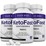 (3 Pack) Keto Fast Diet Pills, Keto Fast Burn Capsules 700 mg, Pure Keto Fast Supplement Burning for Energy - BHB Ultra Boost Exogenous Ketones for Rapid Ketosis for Men Women