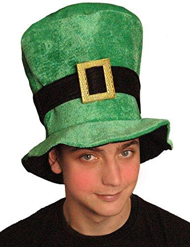 St Patricks dag Ierse groene velours Ierse hoed, Fancy jurk partij kostuum accessoire