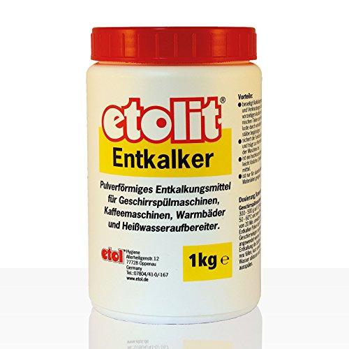 Etolit Entkalker 1000g Pulver, 1kg Dose