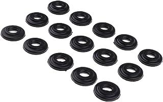 Homyl 15 peças Juntas de cobertura de válvula de motor 11121437395 para BMW E39 E46 E53 E60