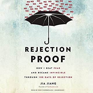 Rejection Proof audiobook cover art