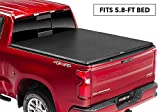 TruXedo TruXport Soft Roll Up Truck Bed Tonneau Cover | 272401 | fits 2019-20 GMC Sierra & Chevrolet Silverado New Body Style 1500 5'8' bed