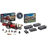 LEGO Harry Potter - Hogwarts Express, Tren de Juguete y Andén 9 y 3/4 (75955) + City Carriles (60205), Juguetes Infantiles - Juego de Construcción VíAs
