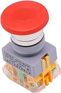 Auto Hazard Warning Attenzione Pulsante Indicatore On//off Auto Relay Pandiki ha portato 16 Millimetri Universale Red LED Auto Emergenza Interruttore