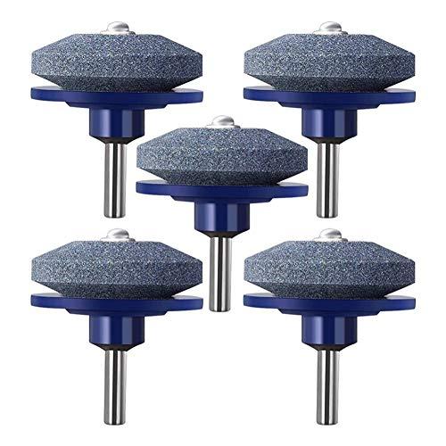 Rasenmäher-Messerschärfer Universeller Multi-Sharp-Rotations-Rasenmäher-Schärfer für Power Drill Handbohrer und Rasenmäher-Messerausgleicher