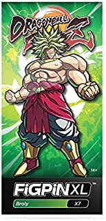 Figpins Dragon Ball FighterZ: Broly - Collectible Pin with Premium Display Case Dragon Ball FighterZ: Broly XL - Collectible Pin X7