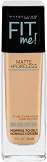 Maybelline Fit Me Matte & Poreless Mattifying Liquid Foundation - Classic Ivory 120,30ml