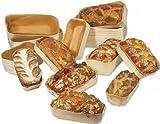 FaisTonGateau - Barquette de cuisson en bois - lot de 50 barquettes 350g