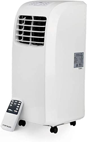 Carson PA210 15,000BTU Portable Air Conditioner Unit with Remote Control and Window Exhaust Kit