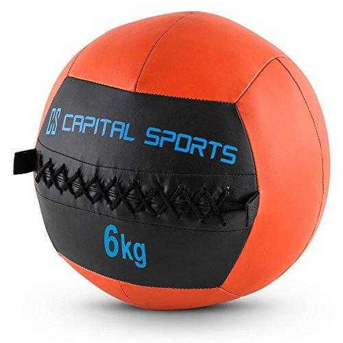 Capital Sports Wallba (Medicine Ball Set of 5 6kg Leatherette) -...