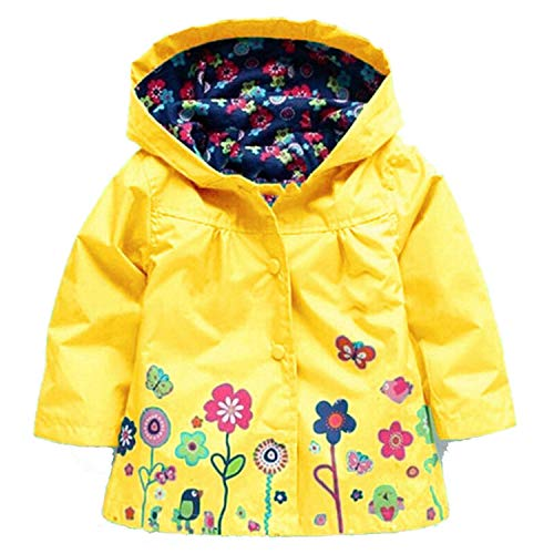 Guy Eugendssg Infant Coat Autumn Winter Baby Jackets for Baby Boys Jacket Kids Warm Outerwear Coats Yellow5 18M