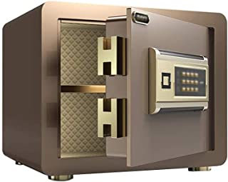 LLRYN Electronic Digital Security Safe Box, Solid Steel Construction Hidden with Deadbolt Lock Wall-Anchoring for Home Off...