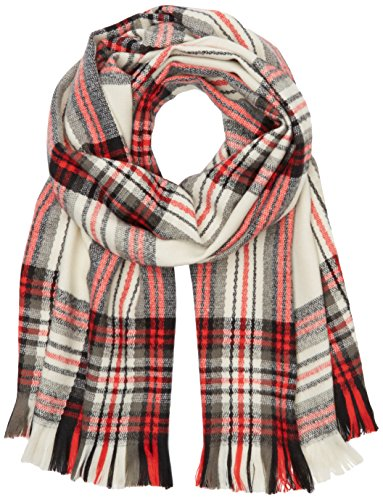 PIECES Damen Schal Pcpylle Long Scarf Noos, Mehrfarbig (Whitecap Gray), One size