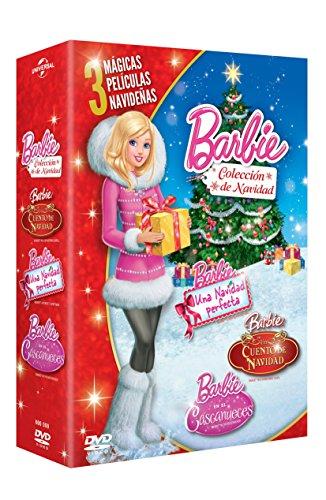 Barbie Boxset Navidad (Barbie en el Cascanueces + Barbie en un Cuento de Navidad + Barbie en una Navidad…