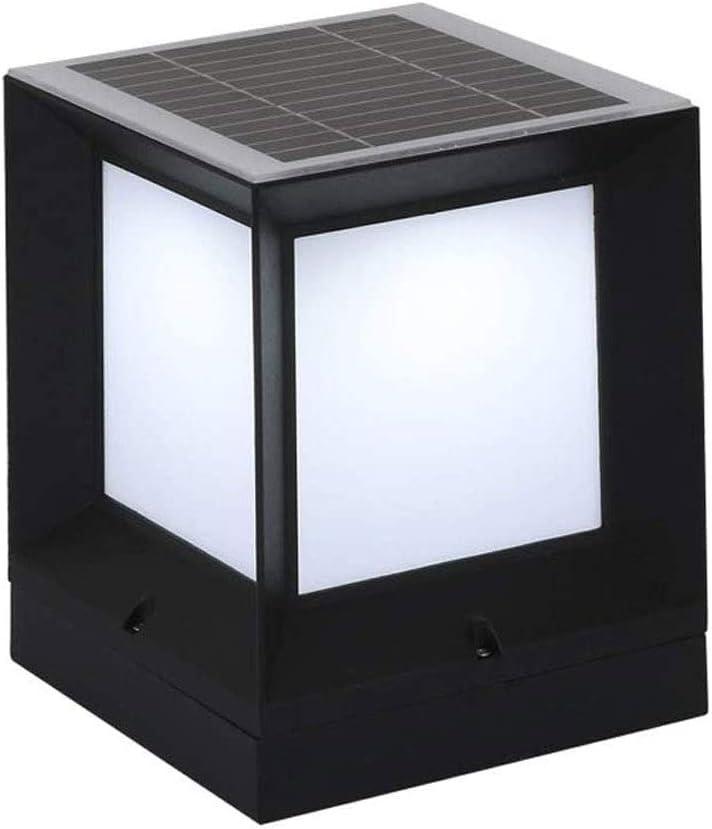 QIYHB Daily bargain sale Austin Mall Square Solar Aluminum Garden Light Outdoor Rainproof IP65
