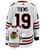 adidas Jonathan Toews Chicago Blackhawks NHL Men's Authentic White Hockey Jersey